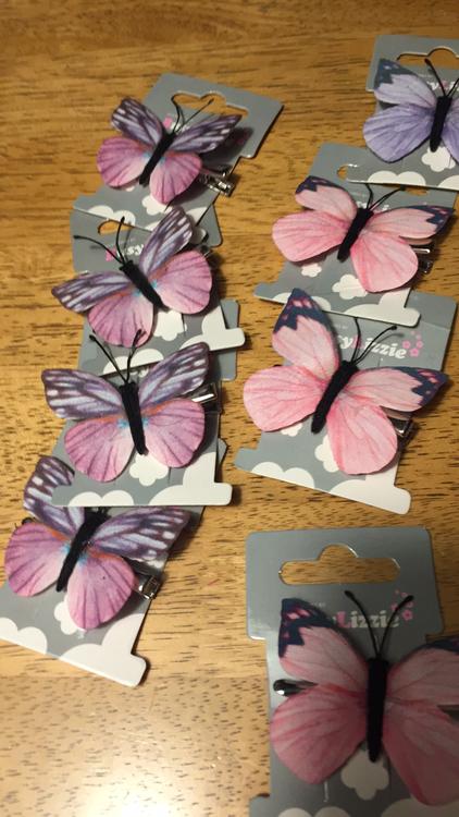 Fjärils clip