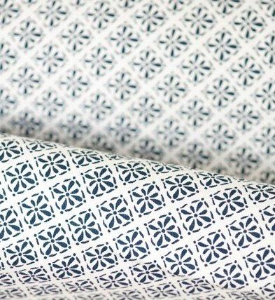 Shyness metervara delight printed blå