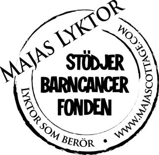 Majas Lykta FRIDAY & WEEKEND - svart