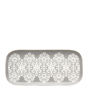 Bricka LACE warm grey