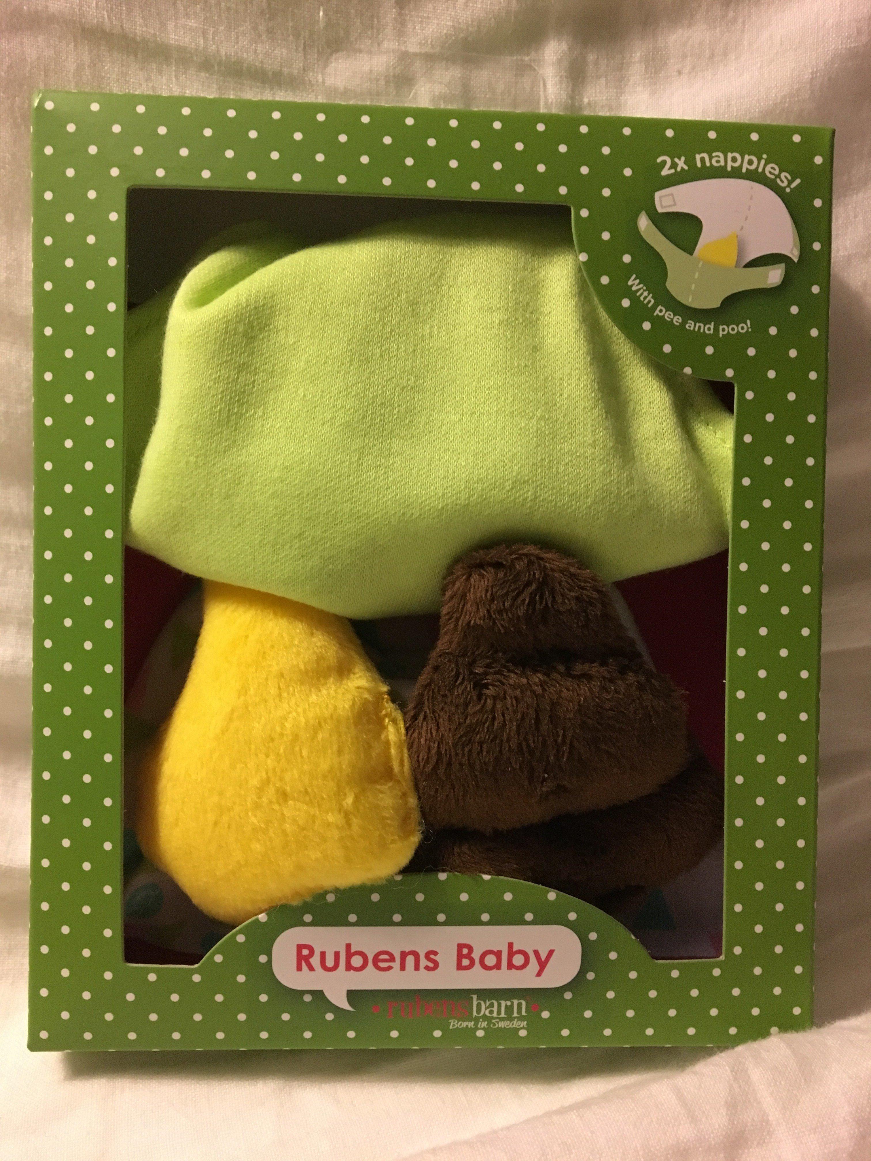 Rubens Barn: Blöjor med kiss och bajs