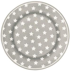 Assiett Star warm grey