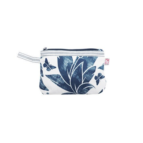 Shyness Necessär Butterfly S Vit/Blå - Cosmetic case Butterfly S Blue/Grey
