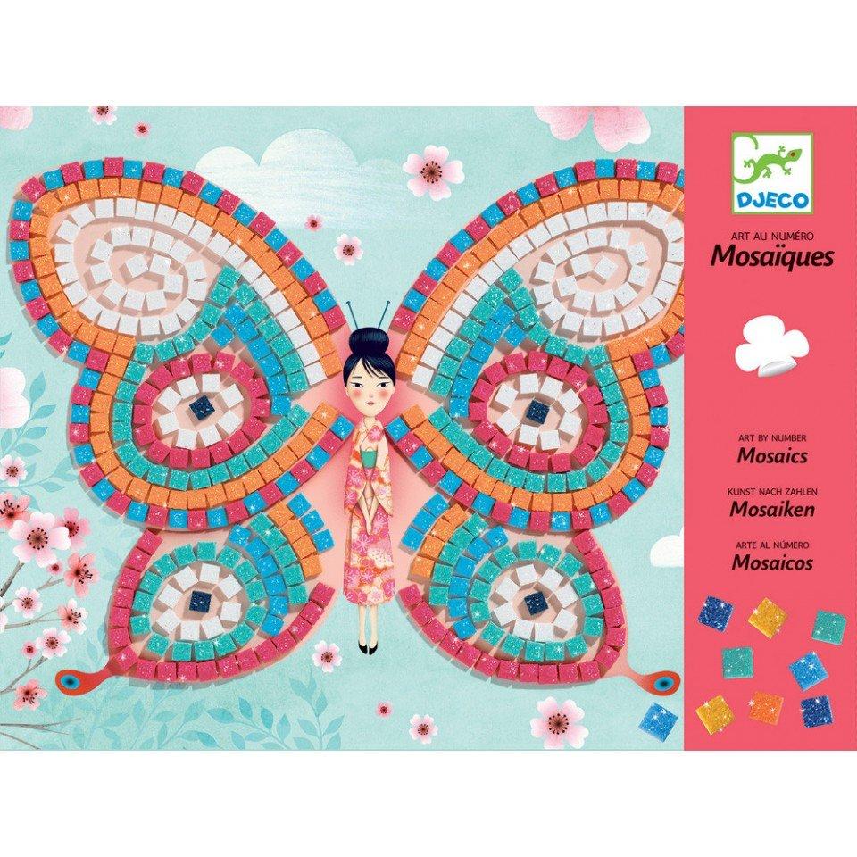 DJECO Mosaik - fjärilar