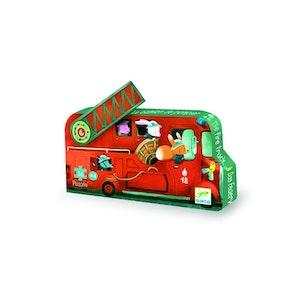 DJECO Pussel brandbil fire truck