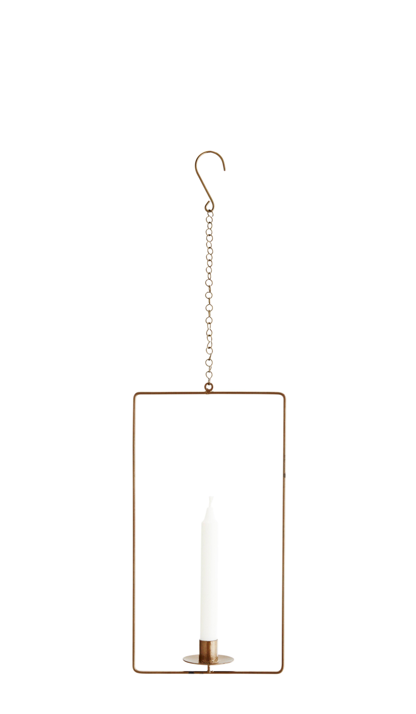 Ljushållare mässing hängande