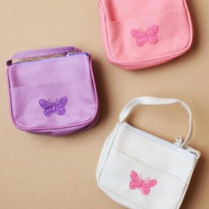 Liten väska med fjäril