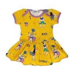 Raspberry Republic - Kortärmad babyklänning Samba de Janeiro