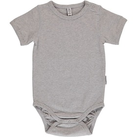 Maxomorra - Kortärmad body Light Gray