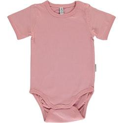 Maxomorra - Kortärmad body Dusty Pink