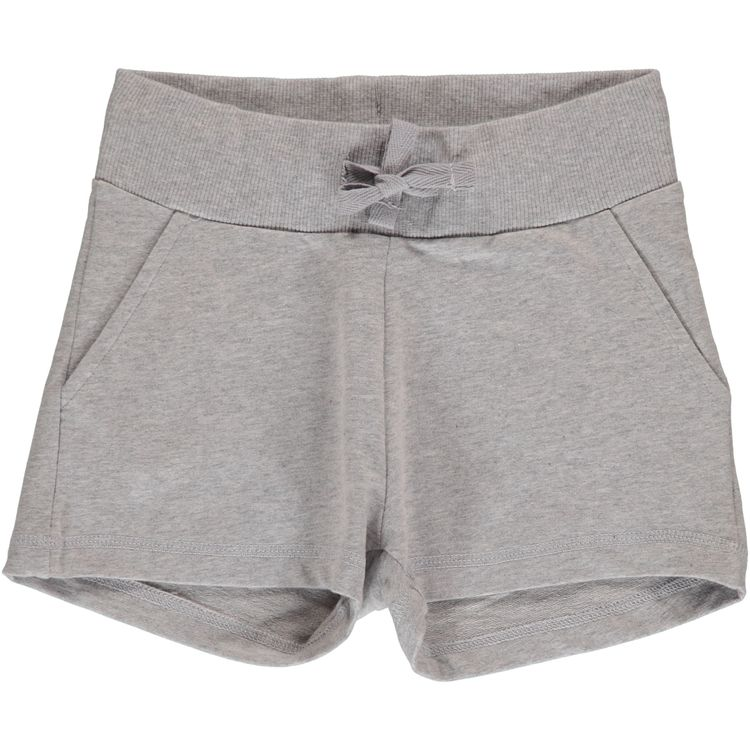 Maxomorra Sweatshorts Light Gray Melange