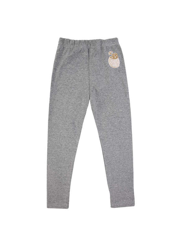 Dear Sophie Basic Leggings Grey Melange