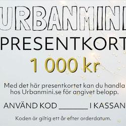 Presentkort 1 000 kr