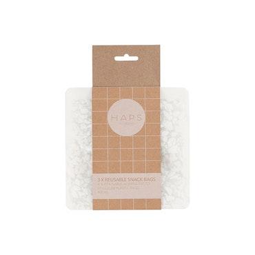 Snack bag 3-pack - 400ml Terrazzo