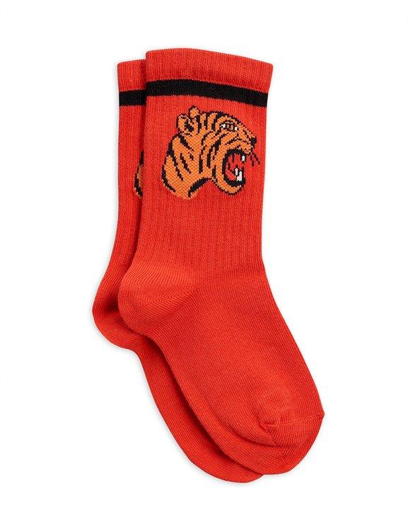 Mini Rodini - Strumpor Tiger Röd