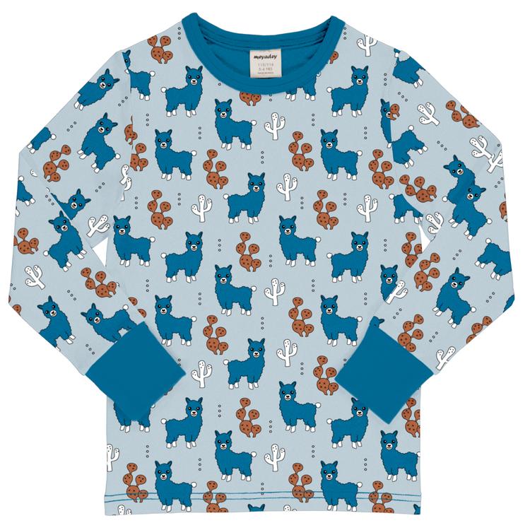 Meyadey- Långärmad Tröja Alpaca Friends