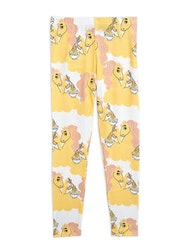 Mini Rodini - Unicorn Noodles Leggings Yellow