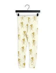 Mini Rodini - Winterflowers Leggings Yellow
