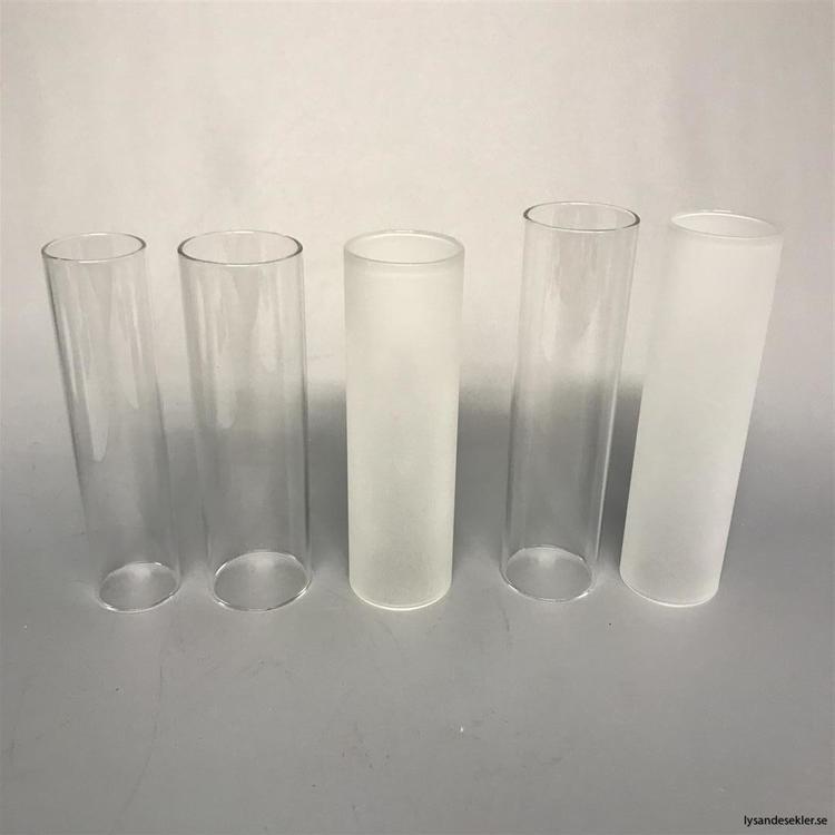 40x150 mm - lampglas 10''' klar cylinder