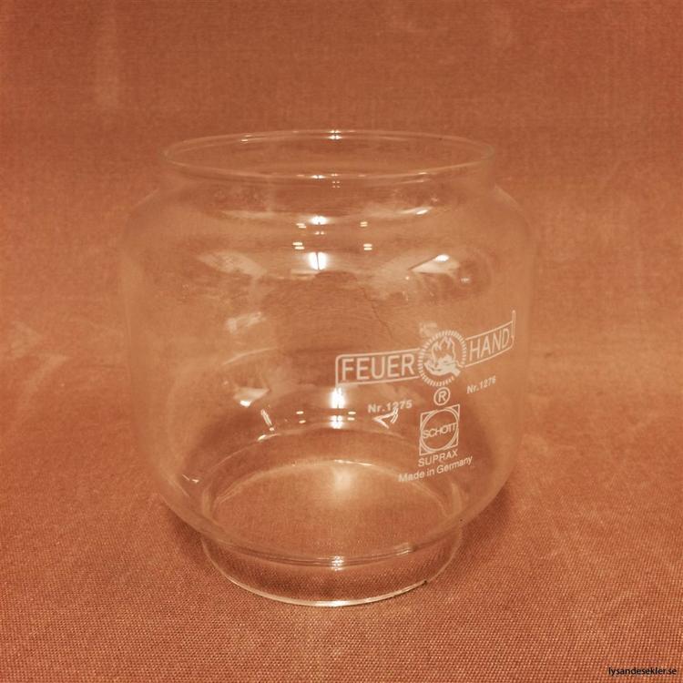 60x65x88 mm - glas till bl.a. stormlykta Feuerhand No 276