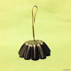 Sot- och värmeskydd - hängande svart  Ø 50-60 mm