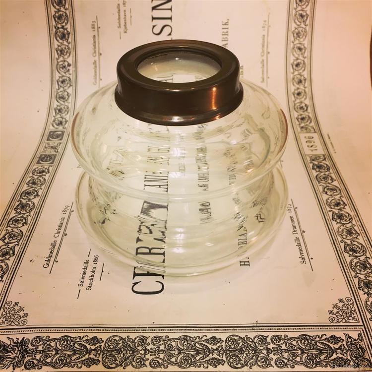 Oljehus 14''' Karlskrona Lampfabrik bord/vägg