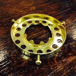 6''' kupring med skruvfattning (70 mm kupmått)