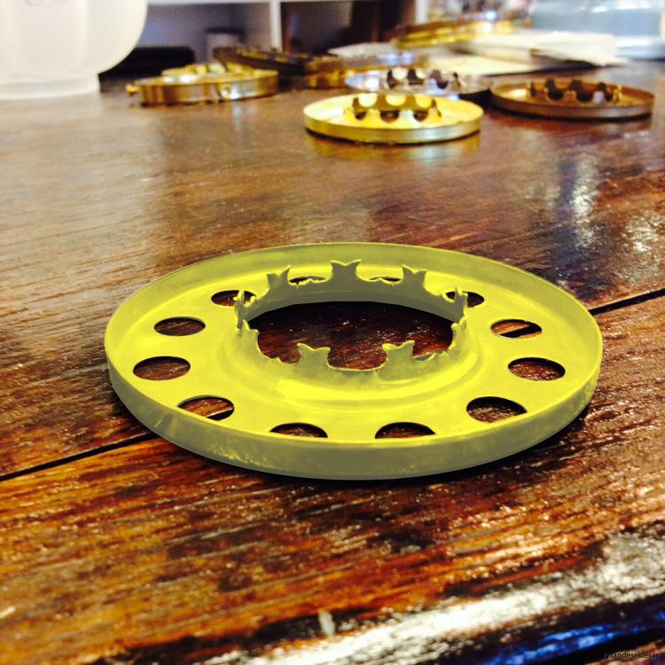 10''' kupring (85 mm kupmått)
