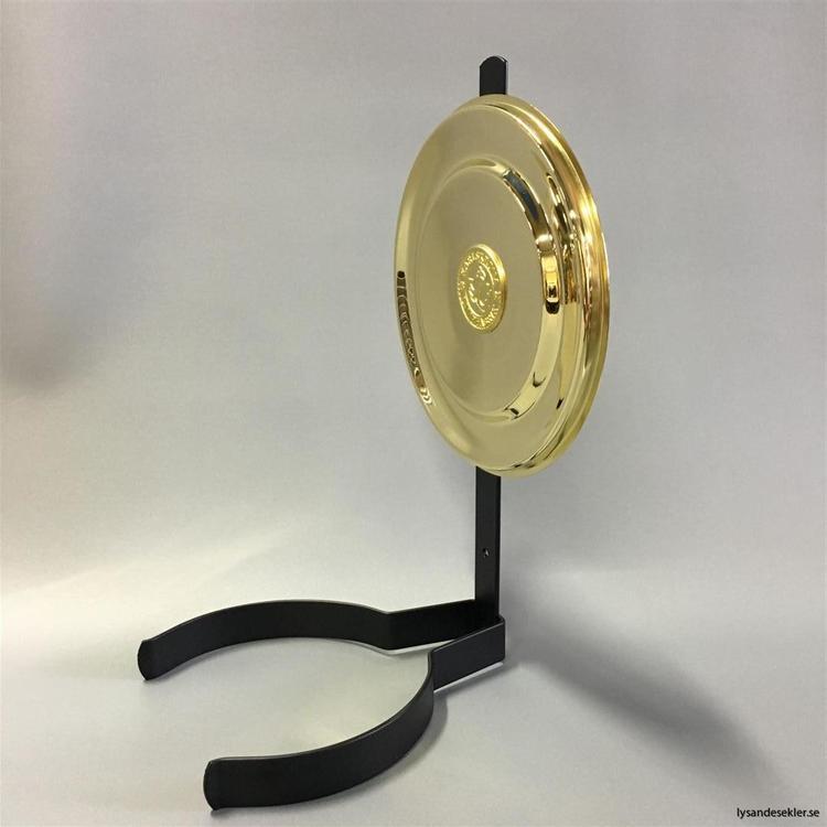 Väggreflektor rund modell i mässing