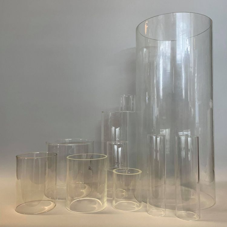 38x38 mm - lampglas cylinder till bl.a. gruvlykta liten