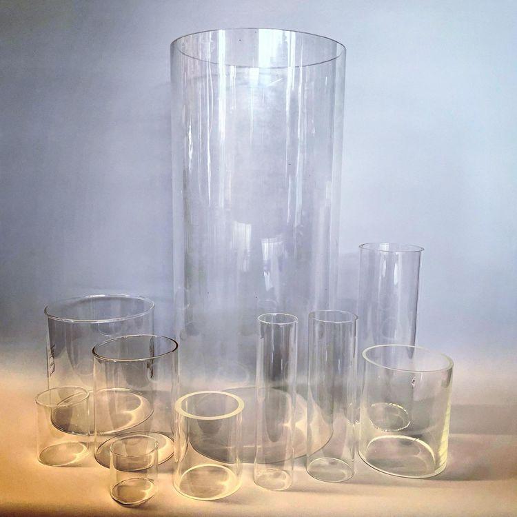 42x140 mm - lampglas 10''' klar cylinder
