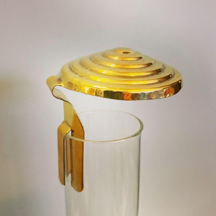 Sotskydd för lampglas i mässing Ø 47 mm