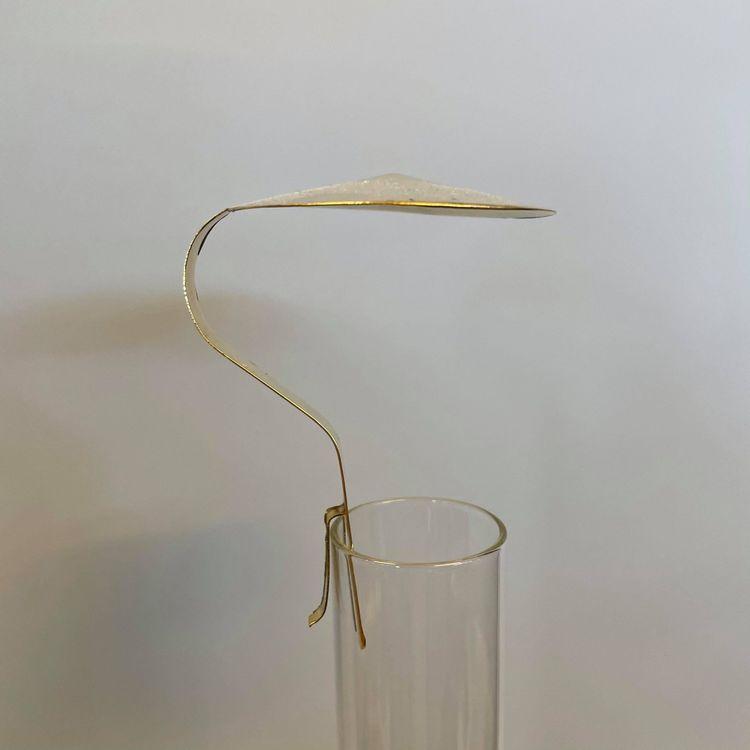 Sotskydd för lampglas i mässing Ø 60 mm