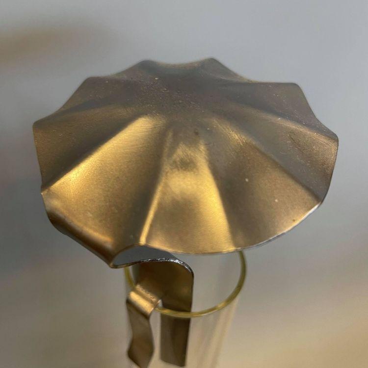 Svenskt hantverk - sotskydd parasoll stål