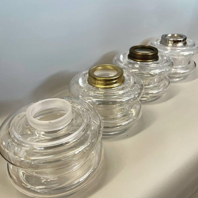 10''' Oljehus klarglas bord/vägg