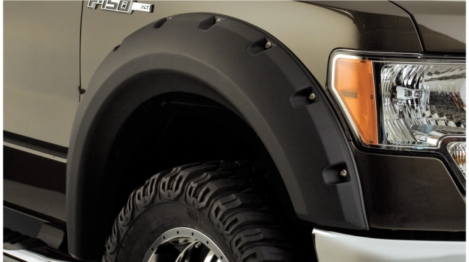 Skärmbreddare - Bushwacker -Oversized   Ford F 150  09-14