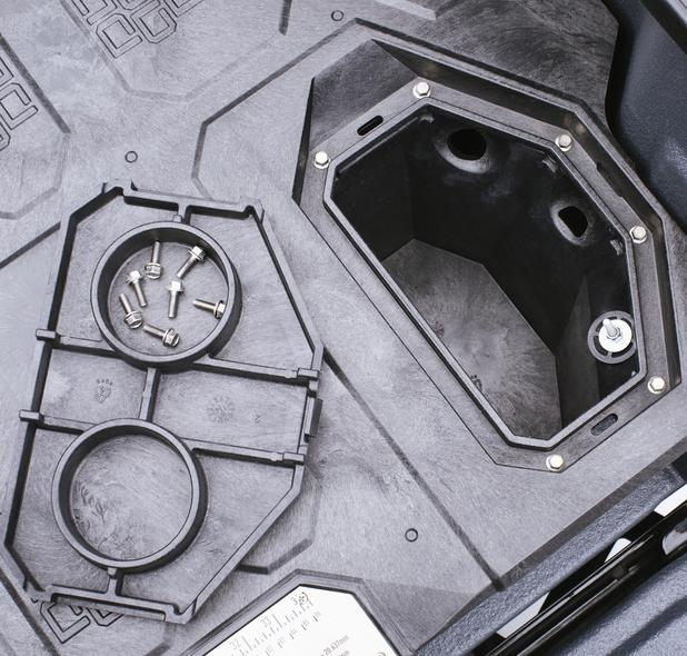 Decked system Renault Alaskan