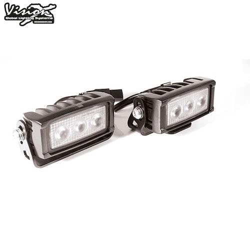 Vision-X VL Series 3-LED 30W Backljus Kit