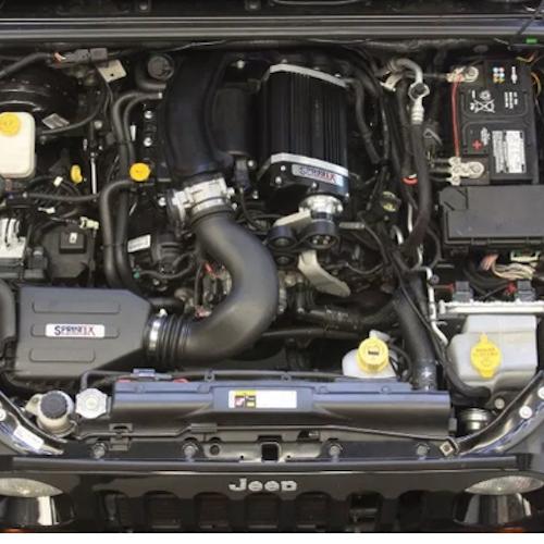Kompressorkit Jeep Wrangler JK 3.6L Pentastar