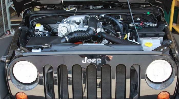 Kompressorkit Jeep Wrangler JK 3.8L V6