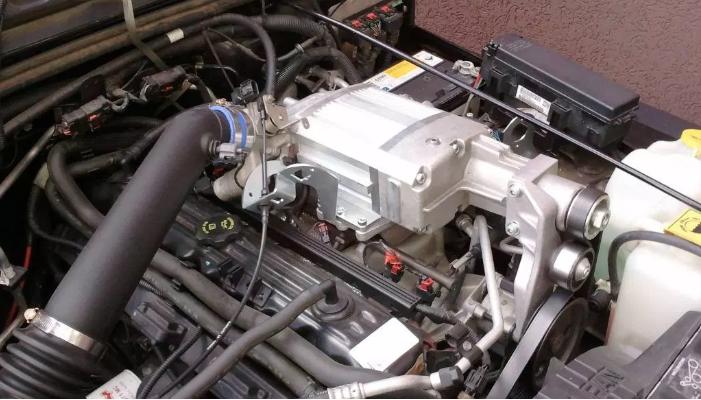 Kompressorkit Jeep TJ 4.0L Inline 6