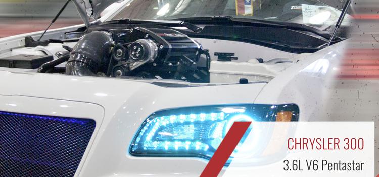 Kompressorkit Dodge Charger 3.6L V6 Pentastar / Chrysler 300S