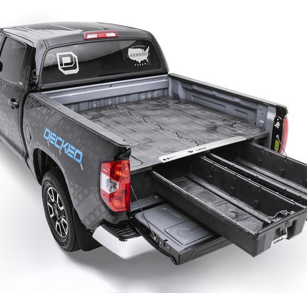 Decked System Toyota Hilux D-cab Revo