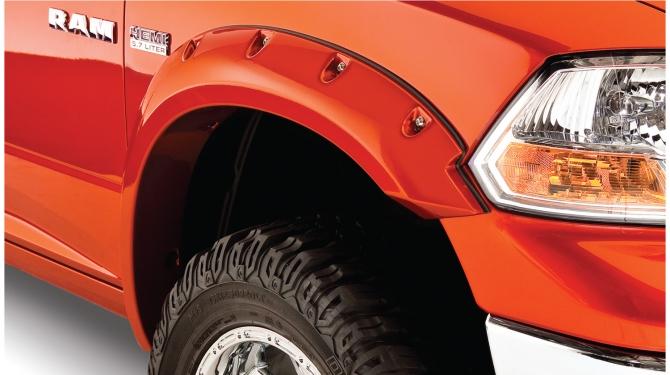 Skärmbreddare - Bushwacker  Dodge RAM 2009 - 2018