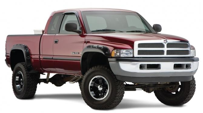 Skärmbreddare - Bushwacker  Dodge RAM 1994 - 2001
