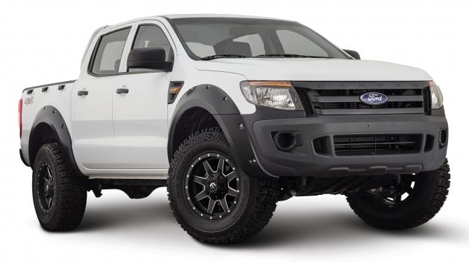 Skärmbreddare - Bushwacker  Ford Ranger T6 2011 - 2015