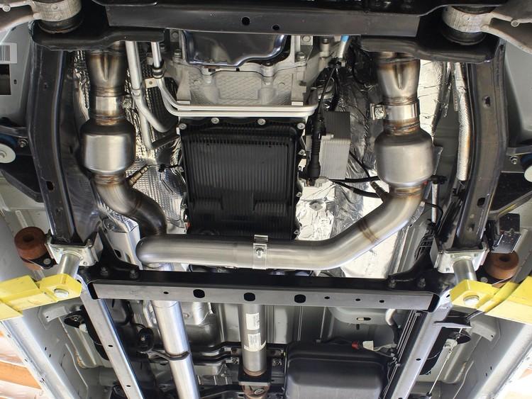 Twisted Steel headers aFe (32hk ökning) RAM 1500 09-18