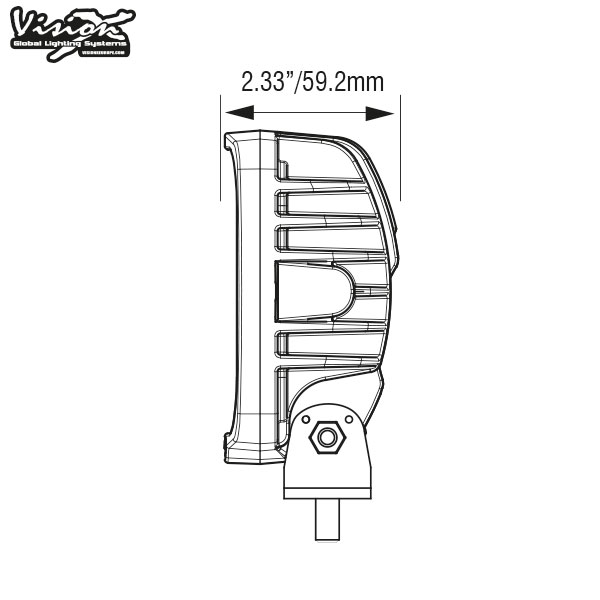Vision X VL Series 5-LED 20W