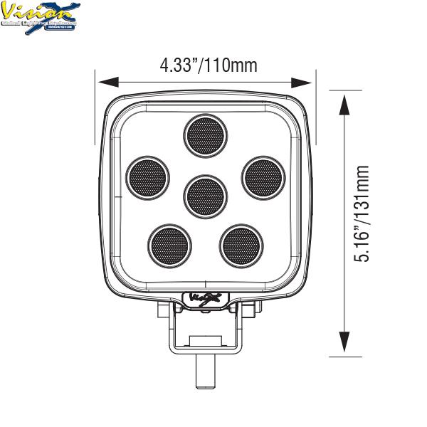 Vision X VL Series 6-LED 30W