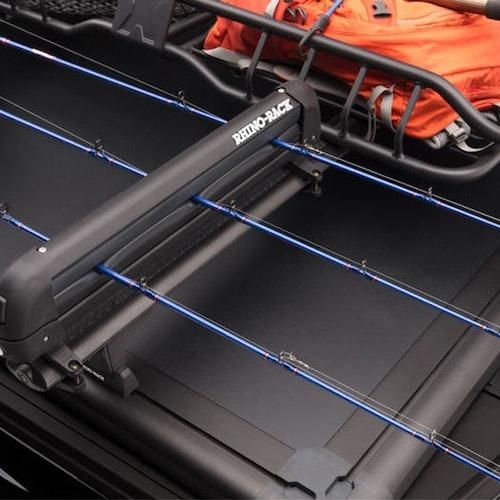 Ridgelander skid/spö fäste för montering på takräcke